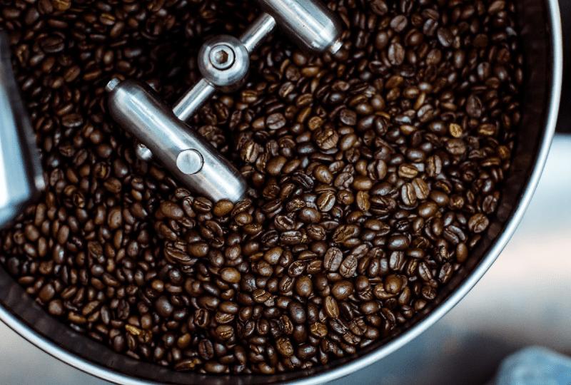 คั่วเมล็ดกาแฟ